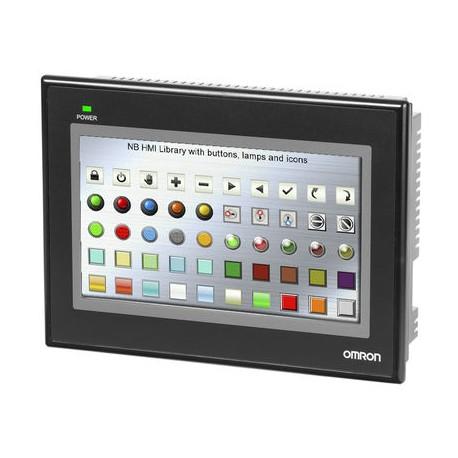 NB7W szeroki 7-calowy kolorowy ekran dotykowy