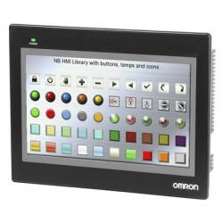NB10W szeroki 10-calowy kolorowy ekran dotykowy