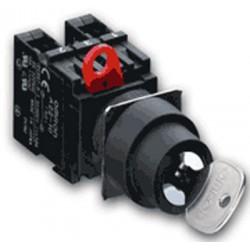 A22K przełącznik 22mm z kluczykiem